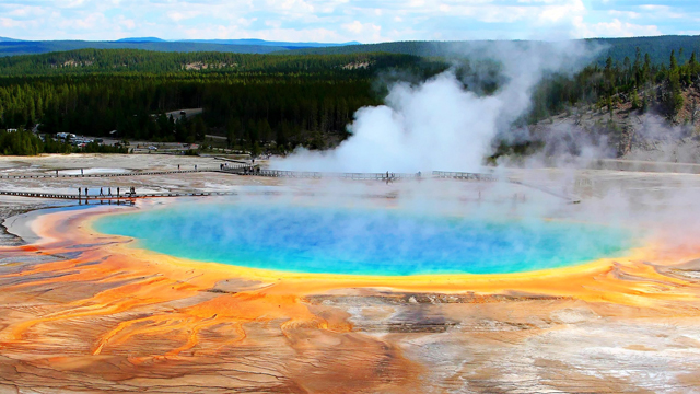 HARBOURRIGHTS YELLOWSTONE NATIONAL PARK USA - National parks in usa